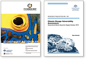Stewardship Action Plan 2009 and Climate Change Vulnerability Assessment 2010 reports
